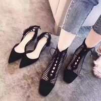 Dior Black mesh vogue casual shoes