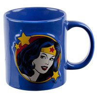 Wonder Woman - Embossed Face 20 oz. Ceramic Mug