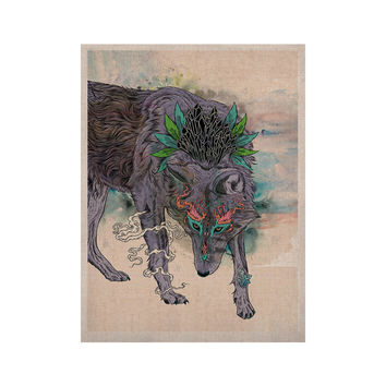 "Mat Miller ""Journeying Spirit"" Wolf KESS Naturals Canvas (Frame not Included)"