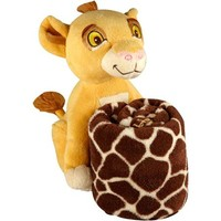 "Disney Lion King ""Simba"" Plush with Blanket - Walmart.com"