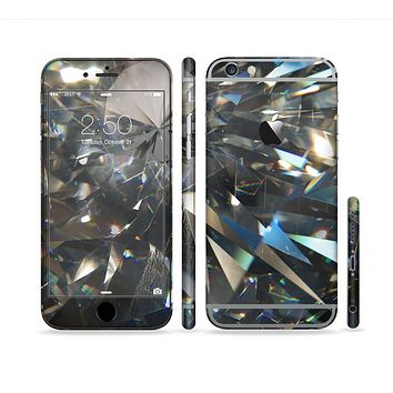 The Abstract Shattered Crystal Pattern Sectioned Skin Series for the Apple iPhone 6 Plus
