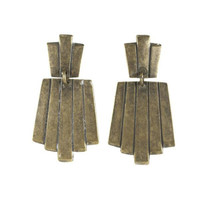 The Shakedown Street Earring / Antique Brass - The 2 Bandits