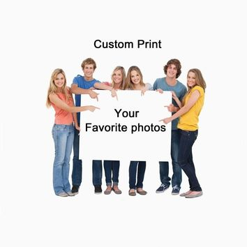 Drop Shipping Custom Prints Photos Posters Print on Waterproof Canvas Wall Art Pictures Decorative Painting for Home Decor Gifts