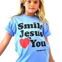 Kids Smile Jesus Love You