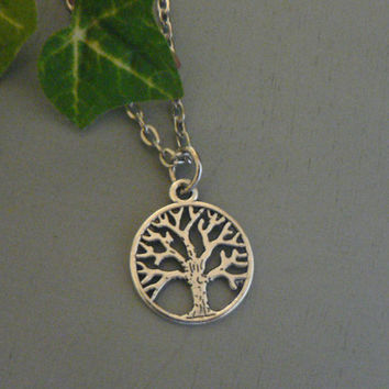 Evil Queen Apple Tree Necklace Once Upon A Time  Inspired Jewelry OUAT Gift Regina Mills Tree Of Life