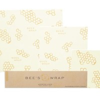 Bee's Wrap Sustainable Food Storage Assorted 3 Pack