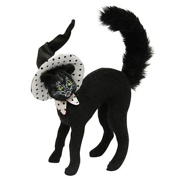 Annalee Dolls 8in 2015 Halloween Polka Dot Scaredy Cat Plush New with Tags