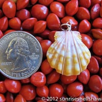 Sunrise Shell Pendant p94