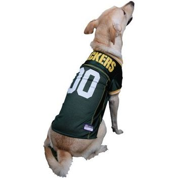 GREEN BAY PACKERS Dog Jersey ★ ALL SIZES ★ Licensed NFL (XL)