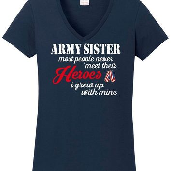 Army Sister T Shirts, Shirts & Tees | Our T Shirt Shack