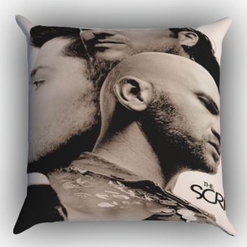 the script Y0675 Zippered Pillows  Covers 16x16, 18x18, 20x20 Inches