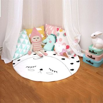 Baby Blanket Infant Funny Game Blanket Carpet Newborn Cotton Blanket Wrap Soft Room Mat Toddler Baby Bedding Set Christmas Gift
