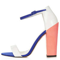 Ratchet Block Strappy Heels - Heels - Shoes - Topshop USA