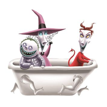 Nightmare Before Christmas  Salt & Pepper Shaker Set
