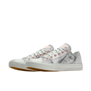 The Converse Custom Chuck Taylor All Star Marble Low Top Shoe.