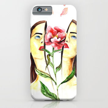 Coming Up Roses iPhone & iPod Case by MIKART