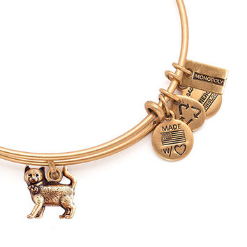 Alex and Ani Monopoly Cat Bangle Rafaelian Gold
