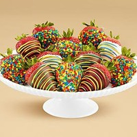 Full Dozen Hand-Dipped Birthday Strawberries and other chocolates & gifts at berries.com