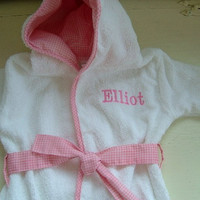 Baby Girl Hooded Bath Robe