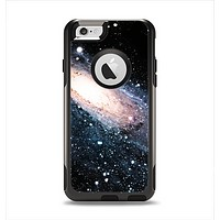 The Swirling Glowing Starry Galaxy Apple iPhone 6 Otterbox Commuter Case Skin Set