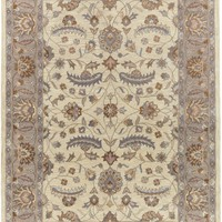 Caesar Classic Area Rug Neutral, Purple