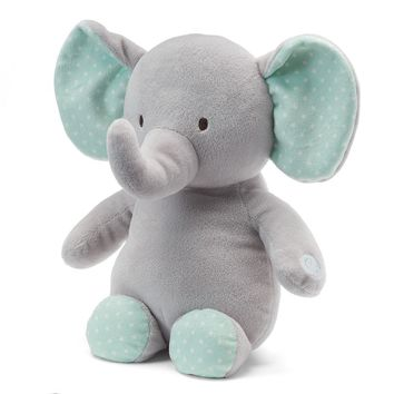 Carter's Elephant Gentle Vibration & Lullaby Soother (Grey)