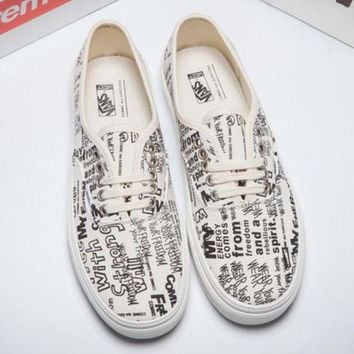 DCCKBWS Trendsetter VANS X COMME des GARCONS Canvas Old Skool Flats Sneakers Sport Shoes