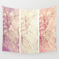 flowers. Wall Tapestry by PureVintageLove