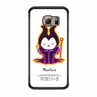 Hello Kitty Love Maleficent Disney Samsung Galaxy S6 Edge Case