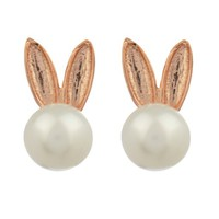 Bunny pearl earrings | Aamaya by Priyanka | MATCHESFASHION.COM US