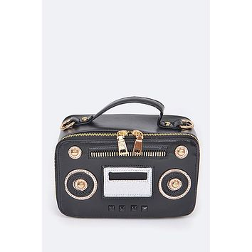 Ol' Skool Radio Inspired Clutch Bag