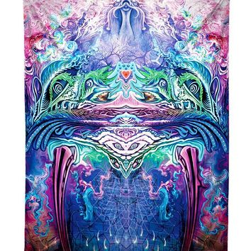 Symetricity Abstract Visionary Art Tapestry
