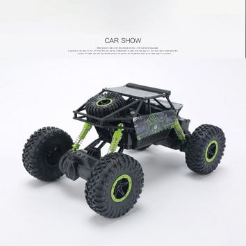 RC Trunk Car Toys for Boys 4.8V 2.4GHz Climbing Electric Car 4 Wheels Motors Bigfoot Remote Control Model Off-Road Vehicle Toy
