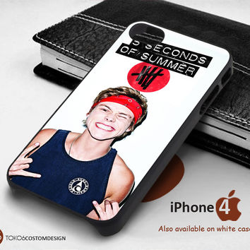 Ashton Irwin for iPhone 4/4S, iPhone 5/5S, iPhone 6, iPod 4, iPod 5, Samsung Galaxy Note 3, Galaxy Note 4, Galaxy S3, Galaxy S4, Galaxy S5, Galaxy S6, Phone Case