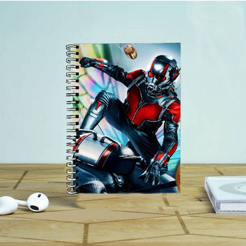 Ant Man Marvel Superhero Photo Notebook Auroid