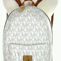 Michael Kors Backpack Vanilla Hypebeast MK bag