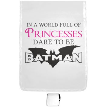 In A World Full Of Princesses Dare To Be Batman Medium Shoulder Bag