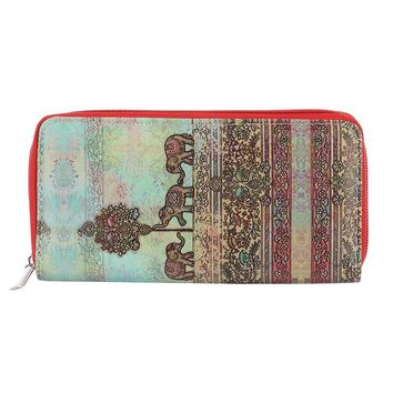 Hindi Elephant  Print Wallet