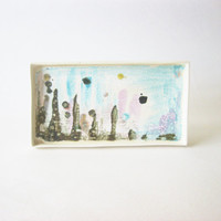 Small ceramic abstract