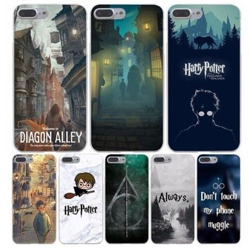 Harry Potter Welcome to Diagon Hard Phone Cover Case for iphone 5 6 7 8 plus X