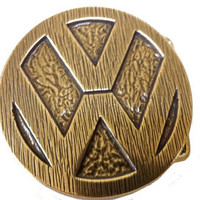 Vintage Volkswagen VW Logo Belt Buckle - Gift Ideas for Him or Her