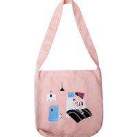 YiZi Pink Lunch Break Tote