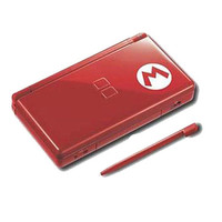 New Nintendo DS Lite Super Mario Bros. Limited Edition Red Handheld System