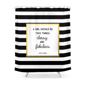 Classy & Fabulous Shower Curtains