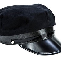 Kangaroos Black Chauffeur Limo Driver Costume Hat