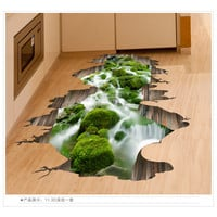 3D wall stickers floor stickers