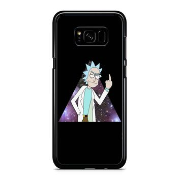 Rick And Morty Space Samsung Galaxy S8 Case