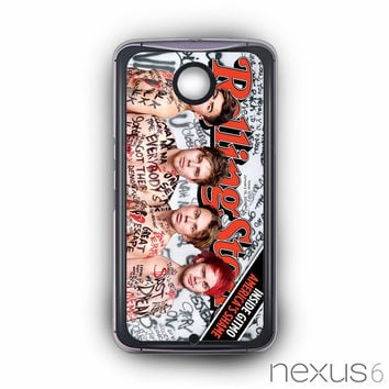 5 SOS Naked Rolling Stone for Nexus 6 phonecases