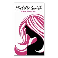 Simple Hairdresser business card design