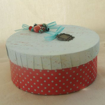 Mothers Day Mom Memory Keepsake  Box recycled by earthluv on Etsy